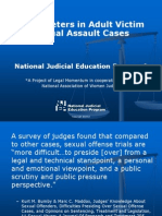 PowerPoint Slides with Suggested Commentary - Interpreters in Adult Victim Sexual Assault Cases