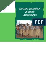 Cartilha Educação Quilombola