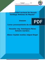 Informe Planta de Santa r j