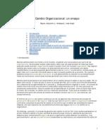 MBA GER CO REYES and Velasquez Cambio Organizacional