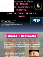1.- FARMACODINAMIA