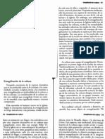 CARRIER, Hervé - Evangelización de la cultura - 6 pag