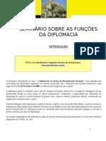 Seminario Sobre Funcoes Diplomacia