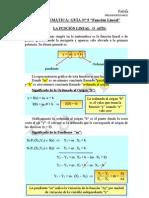 9) Función Lineal
