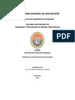 PREVENCIÓN Y PROTECCIÓN CONTRA INCENDIOS monografia