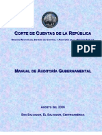 Manual de Auditoria Gubernamental