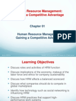 Gaining a Competitive Advantage-Human Resources Perspective