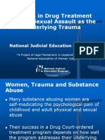 PowerPoint Slides with Suggested Commentary - Women in Drug Treatment Courts