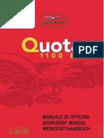 Workshop Manual Moto Guzzi Quota