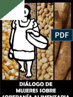 Dialogo de Mujeres sobre Soberanía Alimentaria