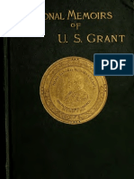 Personal Memoirs of U. S. Grant, VOL 1 of 2 Ulysses S. Grant (1885)