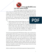 PHP_Penulisan Program PHP