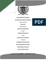 CARACTERISTICAS DE LA EDUCACIÓN COLOMBIANA