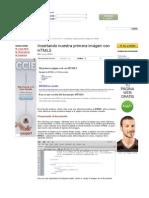 Insertando nuestra primera imágen con HTML5