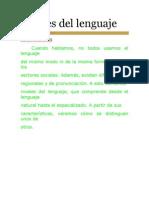 Niveles Del Lenguaje_INFORMACION
