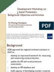 Opening Session (Handayani) - Workshop Background