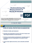 Day 1 Session 3 Country Experience on Monitoring Social Protection - Presentation of Kazahkstan