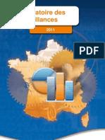 Taux de défaillance 2011 en France