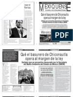 Versión impresa del periódico El mexiquense 29 mayo 2013