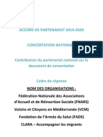 restitution document de concertation