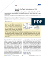 Activated Paper Surfaces for the Rapid Hybridization of DNA