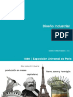 Reseña histórica del diseño