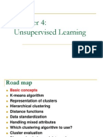 CS583 Unsupervised Learning