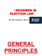 2012 Notes on Election Law