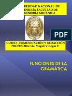 2. Funciones de La Gramatica