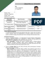 Resume of Rashid