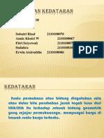 PENGUKURAN KEDATARAN kelompok iv.pptx
