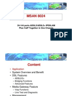 MSAN 8024 Overview