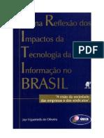 Uma reflexão dos impactos da tecnologia da informação no Brasil - livro