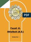 Fazail e Ahlulbait (A.s.) Vol 1