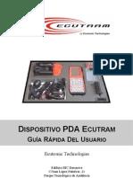 ECUTRAM. Guía Rapida de Usuario Dispositivo PDA