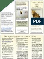 trannsporting pets brochure 1