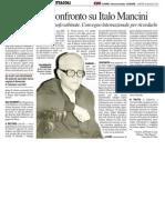 Teologi a confronto su Italo Mancini - Il Resto del Carlino del 28 maggio 2013