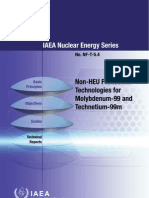 Non-HEU production technologies for molybdenum-99 and technetium-99m.