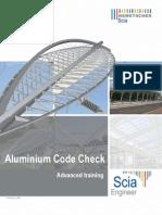 SCIA Engineer - Advanced Training Aluminium 2010.1.0