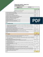 Format for Construction-Audit