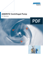 Hydro Pumps Products Brochure s Centrifugal Pump e 2