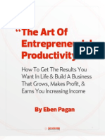 the art of entrepreneurial productivity
