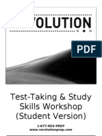 Test Taking & Study Skills Workshop (Student Version)