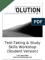 Test Taking & Study Skills Workshop (Student Version)
