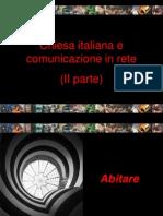Chiesa italiana e comunicazione in rete 2 - 3 - 4