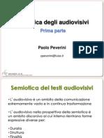 Semiotica degli Audiovisivi 1