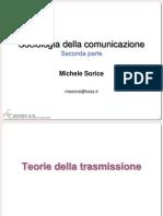 Sociologia della Comunicazione 2