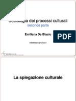 Sociologia dei Processi Culturali 2