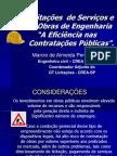 atuação integrada dos diversos atores envolvidos na gestão e controle de obras públicas  - marciopernambuco  - Iº SEAREA