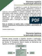 elementos logísticos na perfuração direcional